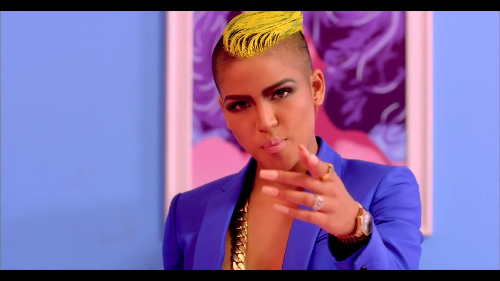 Nicki Minaj Wears See Through Tights Cassie is also wearing a pair