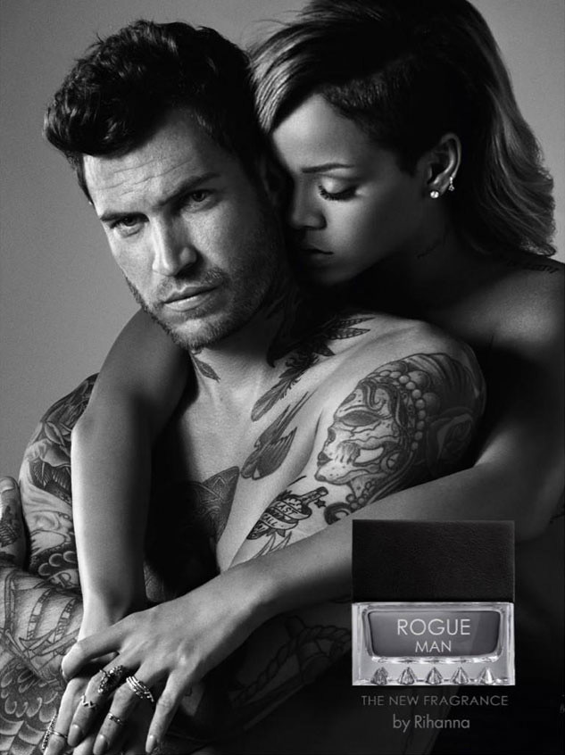 RIHANNA CATERS TO MEN WITH HER NEW ROGUE COLOGNE!