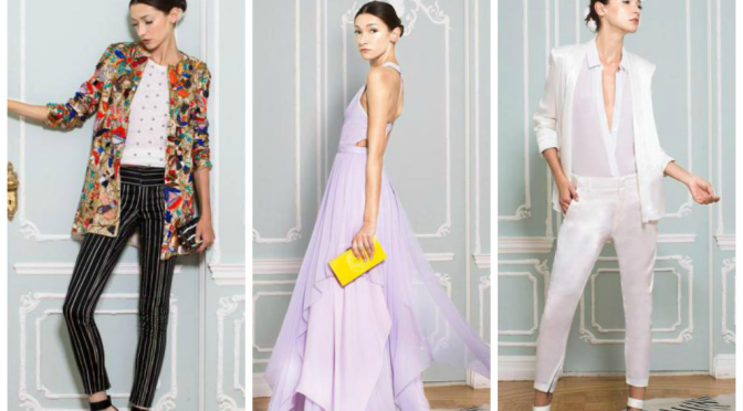 FASHION RECAP: ALICE + OLIVIA SPRING 2015 READY-TO-WEAR COLLECTION!