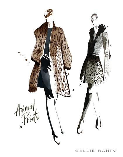 THE LATEST TRENDS: FALL EDITION FEATURING ILLUSTRATOR, ELLIE RAHIM!